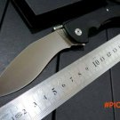 Hot sale .Custom  tactical Folding Knives D2 steel Blade + G10 handle Camping Outdoor Surv