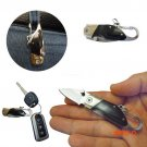 Stainless Steel Mini Folding Pocket Knife Portable Multifunction Key Chain Knives Outdoor