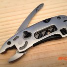 adjustable multi fucntion utility tool fold knife plier spanner jaw screwdriver wrench too