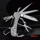 12-in-1 Multitool Camping Pocket Knife Outdoor Camping Survival EDC Tool Folding Knife Tit