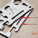 Multi Tools 11 in 1 Multifunction Outdoor Hunting Survival Camping Pocket Military Credit
