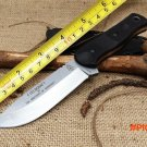 Brothers of Bushcraft Fieldcraft TOPS Hunting Fixed Knife,9Cr18Mov Blade G10 Handle Tactic