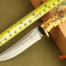 BROWNING Elk Ridge Hunting Knife,440 Blade Bone Handle Sanding Survival Knife,Camping Fixe