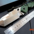 Top quality. Dwaine Carrillo knife 440 blade+G10 handle fixed axis knife camping knife hun
