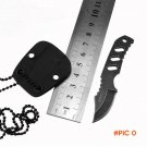 Mini Fixed Blade Knife Necklace Camping MTECH Survival Knives Hunting Tactical Knifes With