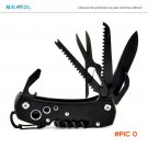 Folding Knife Stainless Steel Multitool Navajas Couteau Pliant Army Pocket Knife Hunting O