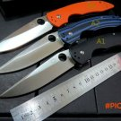 Hot sale . Custom Sea monster 58-59HRC D2 steel outdoor tool  folding knife Camping knife