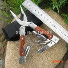 Outdoor EDC Multifunctional Stainless Steel Grip Pliers Knives Multitools Camping Fishing
