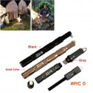 EDC Tool Waterproof Magnesium Flint Stone Outdoor Survival Gear Fire Starter Maker with Co