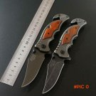 Hot Folding  Knife 5CR13MOV Blade Steel Handle Sog Pocket Survival Knives Hunting Tactica