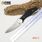 BMT Bear Dark Folding Blade Knives Tactical Knife D2 Blade G10 Handle Wild Boar Camping Su
