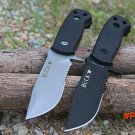 2 Options! BUCK Camping Fixed Knives,420HR Blade Survival Knife,Hunting Knife. BC1845