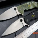 Custom WLF-101 G10 handle 9 cr13 steel blade folding knife outdoor camping survival tool T