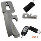 5 in 1 Multifunctional Mini Stealth Survival Tool Saber Card Survival Knife Camping Huntin
