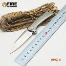 BMT 0808 Tactical Folding Blade Knife D2 Blade Steel Handle Ball Bearing Pocket Outdoor Ca