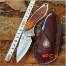 Sharp High Quality New Buck 271 Outdoor Camping Folding Blade Survival Knife Rosewood Hand