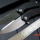 Custom  0095 9Cr18MoV blade G10 handle ball Bearing folding knife camping hunting outdoor