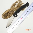 BMT Cold Steel Camping Folding Knives D2 steel Blade Kraton handle Outdoor Survival Knives