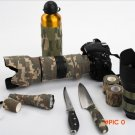 Non-woven Latex Camouflage Tape Outdoor Camping Military Hunting Knife Stretch Bandage Wra