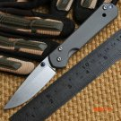 Ben small sebenza 21 D2 TC4 titanium handle folding knife camping hunting outdoor survival