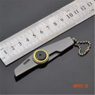 Mini Multifunction Key Chain Knives Fruit army best Folding knife Blade Pocket Outdoor Cam