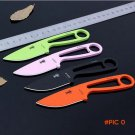 NEW ARRIVAL 4 Colors small fixed blade straight knife, protable  outdoor survival knives,c