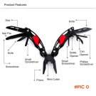 New Arrival Portable Multi Outdoor Pliers 13 in 1 Camping Tool Pliers Knife with Tainless