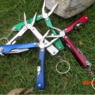 New 1PC Outdoor Camping Survival Multi Tool Stainless Steel Plier with Flashlight 9 In 1 M