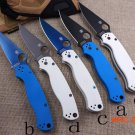 C81 58HRC 8CR13MOV  blade 2 colors G10 handle 3 colors blade camping survival folding knif