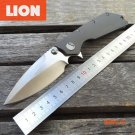LDT D.O.C Folding Blade Knife Microtech D2 Blade Titanium TC4 Handle Flipper Survival Camp