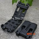 10PC Outdoor camping quick release belt clip, used with K sheath torch light or knife BC2371