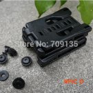 15PCS/LOT outdoor camping survival kit quick release belt clip / K sheath can use for knif