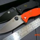 Custom C122 Folding Blade Knives 8CR13MOV Blade G10 Handle Tactical Hunting Camping Surviv