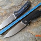 2015 high quality Bearing system F3 bear head knife D2 blade G10 2 color Handle Multi styl