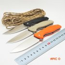 BMT Wild Boar F3 Tactical Camping Folding Knife 9CR15MOV Blade G10 Ball Bearing Flipper Ou