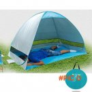 Outdoor camping hiking beach summer tent UV protection fully automatic sun shade quick ope