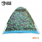 200*140*110cm Outdoor Portable Single Layer carpas camping Tent Camouflage for 2 Person Wa