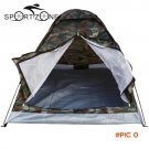 Outdoor PU1000mm Rainfly Camping Tent for 2 Person Single Layer Portable Polyester Beach T