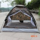 200*140*110cm Outdoor Portable Single Layer Camping Tents Outdoor Camping Hiking Durable S