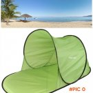 Outdoor Camping Hiking Beach Summer Tent UV Protection Fully Sun Shade Quick Open Pop Up B