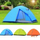 Ultralight Camping Tent Waterproof 1-2 Person Outdoor Aluminum Double Layer Fishing Beach