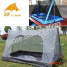3F Gear outdoor summer tent ultralight 2 person inner mesh camping tent/Now stock bottom i