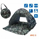 Outdoor Waterproof ultralight polyester fabrics Full Automatic camouflage Tent  festival t