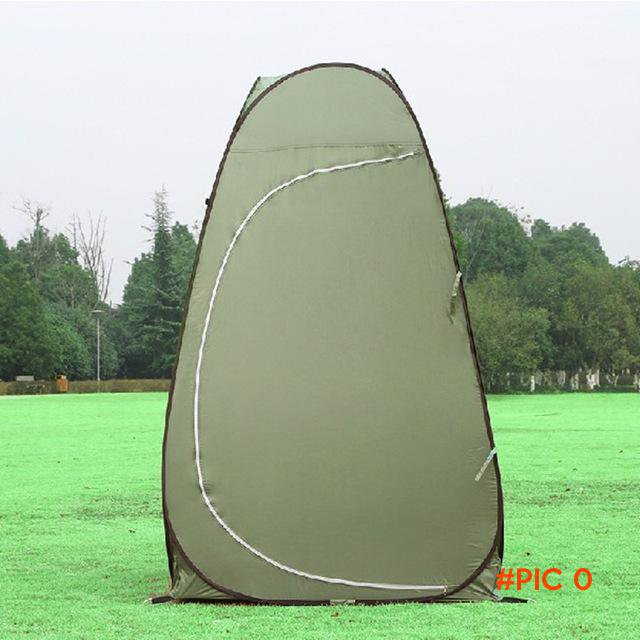 Outdoor Dressing changing Toilet Tent automatic open portable camping hiking beach Bath sh