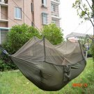 Dense Nylon Netted Hammock Parachute for Hiker Camping Tent 260*10CM Trees Sleeping High S