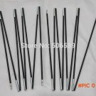 free shipping camping tent poles for 2 x 2 M tent 8.0 mm glass fiber poles 4.03 M in total