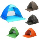 Polyester Fabric with Silver Coating Outdoor Camping Hiking Fishing Beach UV Protection Au