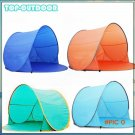 Automatic Open Beach Tent Sunshade Sun Shelter Pop-up Tent Sun Protection Tent Camping Fis
