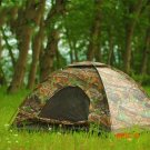 200*150*110cm Outdoor Portable Single Layer Tent Camouflage Camping Tent Tree for 2 Person
