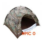 Camouflage 4 Person large Camping Tent Portable Single Layer Waterproof large tents barrac